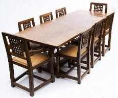 Image result for 1920's dining tables
