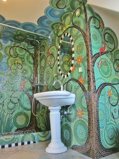 Frances Green Large Mosaics I Really Like This Design A