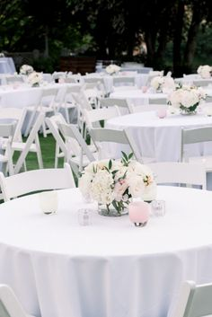 Portland Oregon Wedding and Event Florist Small Centerpieces, White Bridesmaid Dresses, Portland Oregon, Floral Designs, Portfolio Design, Wedding Flowers, Club, Table Decorations, Bridal