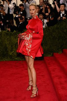 LuckyShops.com - See Every Last Look From The Met Gala Red Carpet! - Karolina Kurkova In Tommy Hilfiger