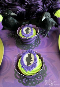 maleficent cupcakes