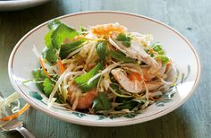 This satisfying vietnamese-style prawn and chicken salad is the perfect healthy dinner.