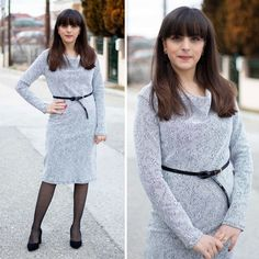 Making the SOI cowl neck dress - Athina Kakou Sew Over It Patterns, Dress Patterns, Cowl Neck Dress, High Neck Dress, Comfortable Outfits, Top Pattern, Sewing Clothes, Dress Me Up, New Outfits