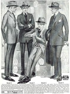 Fashion for men 1930's