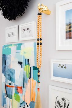 Gallery Wall Inspiration from the One Room Challenge, Waiting On Martha