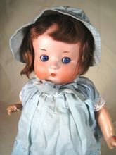 """Just Me"" antique Armand Marseille bisque head doll, 12"" tall"