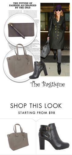 """The Bagtigue 21"" by elmaman ❤ liked on Polyvore featuring Bagtique, Furla, Dune and Kate Spade Saturday"