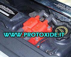 Bobina potenziata rossa per Minicooper R53 al prezzo di 199,64 € Euro.  Bobina potenziata per Minicooper. Plug and Play con l'originale