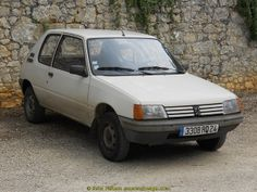 Peugeot 205 - Domme, Périgord, France. | Flickr - Photo Sharing!
