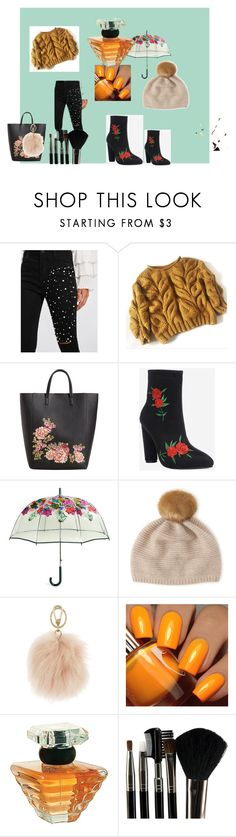 """tarde gris"" by carmen-alvarez-fernandez on Polyvore featuring moda, MANGO, Vera Bradley, Henri Bendel, Furla, Floss Gloss, Lancôme y Glamour Status"