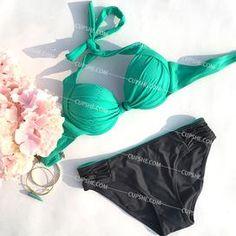 Cupshe Retro Game Bikini Set