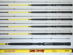 Other Fishing 384: Lew S Mr. Crappie Slab Daddy Fishing Poles, Rod 10 Sd10l-2 (1 Set Of Four) -> BUY IT NOW ONLY: $80 on eBay!