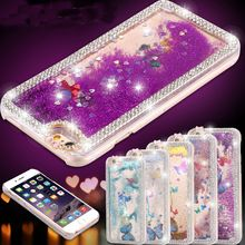 5 5S Luxury Bling Butterfly Diamond Shiny Ultrathin Protective Clear Phone Cases For Apple Iphone 5 5s Bag Covers Summer Capa(China (Mainland))