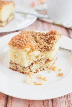 Sour Cream Coffee Cake Recipe - cake is the best breakfast!
