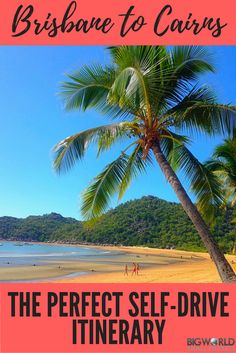 Driving from Brisbane to Cairns : The Perfect 20 Day Itinerary - Big World Small Pockets Coast Australia, Queensland Australia, Australia Travel, Western Australia, Australia Visa, Brisbane To Cairns, Places To Travel, Places To Visit, Travel Destinations