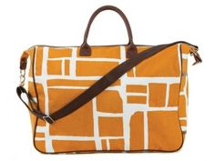 Gorgeous!  Made in Maine...Raincoat Cotton™ Weekender Travel Bag