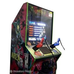 borne arcade area 51
