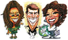 caricatures   ... Caricatures • Special Events • Display Caricatures
