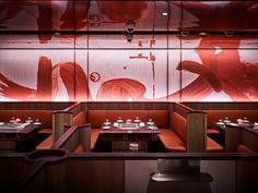 Works - Blu Water Studio Architecture Restaurant, Restaurant Interior Design, Japanese Bar, Asian Restaurants, Restaurant Lounge, Chinese Restaurant, Hot Pot, Hotel Spa, Lounges