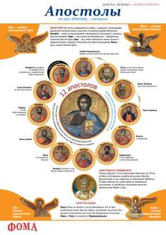Апостолы. Инфографика