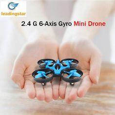 Mini H36 Drone RC Quadcopter 2.4G 6 Axis Gyro 4 Canales LED modo sin cabeza de una tecla de retorno rc helicópteros dron jjrc bolsillo drones en Juguetes de Control remoto de Juguetes y Pasatiempos en AliExpress.com | Alibaba Group