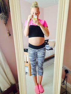 Baby Bump  Week 30 - 10st 7lb