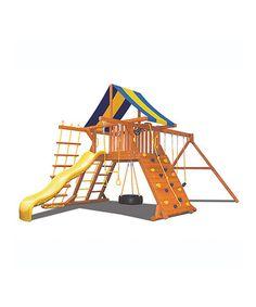 Look at this #zulilyfind! Superior Original Play Center Swing Set #zulilyfinds $2200 - just needs more swings
