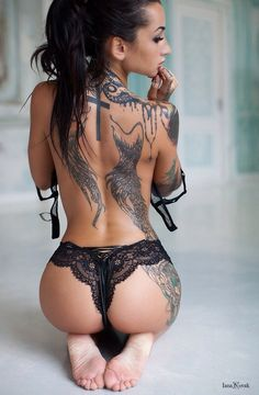 Everything about her is perfect including her ink