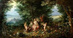 Jan Brueghel The Elder Earth