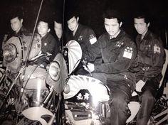 Japanese motorcycle gangs.