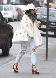 Vanessa Hudgens arrives to a performance of Gigi at the Neil Simon Theatre on March 27, 2015 in New York City