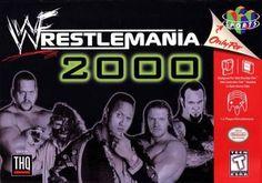 Wrestlemania 2000 - N64 Game Wrestling Games, Wrestling Posters, Wrestling Videos, Nintendo 64 Games, Nintendo N64, Nintendo Switch, Pablo Escobar, Classic Video Games, Retro Video Games