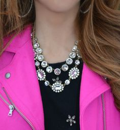 Hot pink and jewels