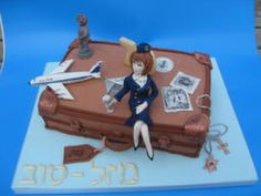 pilot flight attendant wedding cake toppers 1000 images about flight attendant cake on 18522