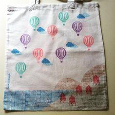 bolsa para todo con globos