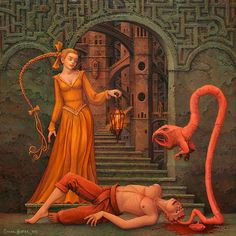 Sex, Satan and surrealism: The unsettling erotica of Michael Hutter Illustrator, Arte Obscura, Outsider Art, Fantastic Art, Surreal Art, Ancient Art, Macabre, Erotic Art, Satan