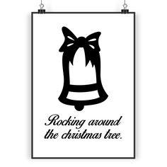 Poster DIN A3 Weihnachtsglocke aus Papier 160 Gramm  weiß - Das Original von Mr. & Mrs. Panda.  Jedes wunderschöne Poster aus dem Hause Mr. & Mrs. Panda ist mit Liebe handgezeichnet und entworfen. Wir liefern es sicher und schnell im Format DIN A3 zu dir nach Hause.    Über unser Motiv Weihnachtsglocke  Weihnachten ist eine besinnliche Zeit im Kerzenglanz und Glockenläuten. Unsere Weihnachtsglocke kündigt euch eine schöne Weihnacht an.    Verwendete Materialien  Es handelt sich um sehr…