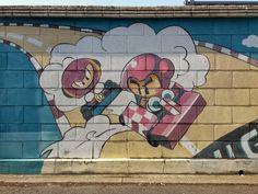 "Street Art. "" You're no match for me!! "" q(^o^)p - 송민호 (Song Min-ho) - Google+"