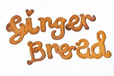 #gingerbread and #typography