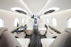 Learjet 85 Private Jet interior