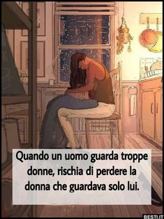La donna che aveva occhi solo per lui.. Tumblr Quotes, Love Quotes, Cheesy Quotes, Italian Phrases, Sexy Drawings, Home Pictures, What Is Love, True Words, Wallpaper Quotes