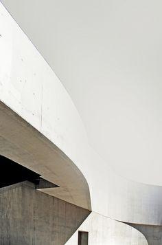Zaha Hadid's MAXXI, Rome
