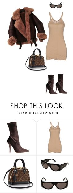 """Untitled #716"" by milly-oro on Polyvore featuring Rick Owens Lilies and CÉLINE"