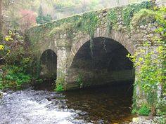 Old Stone Bridge in the Irish Countryside