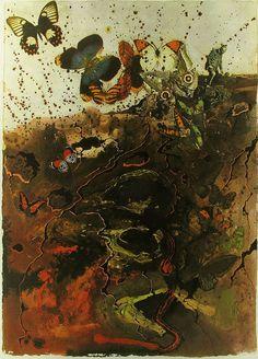 Salvador Dalí - Auvergne Butterfly Suite, 1969