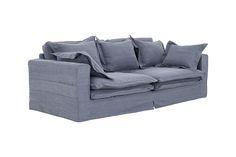 Isobe 3-Sits Soffa  Blå