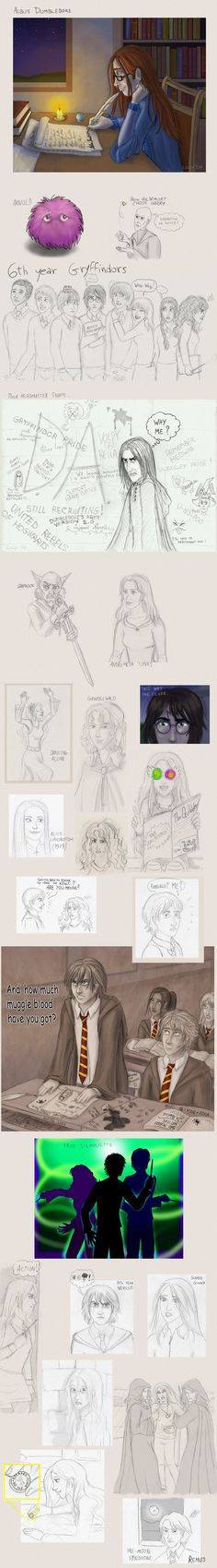 Harry Potter stuff by =Loony-Lucy on deviantART
