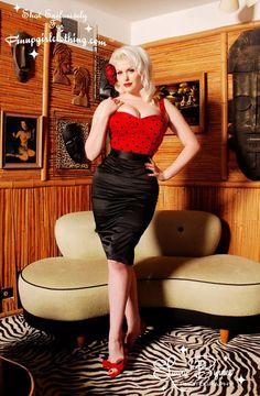 Pin Up Girl Clothing .... polka dots!