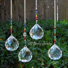 Large #Rainbow #Prism #Crystal #Suncatcher #Window #Decoration
