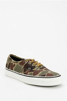 Vans Authentic Camo Women's Sneaker